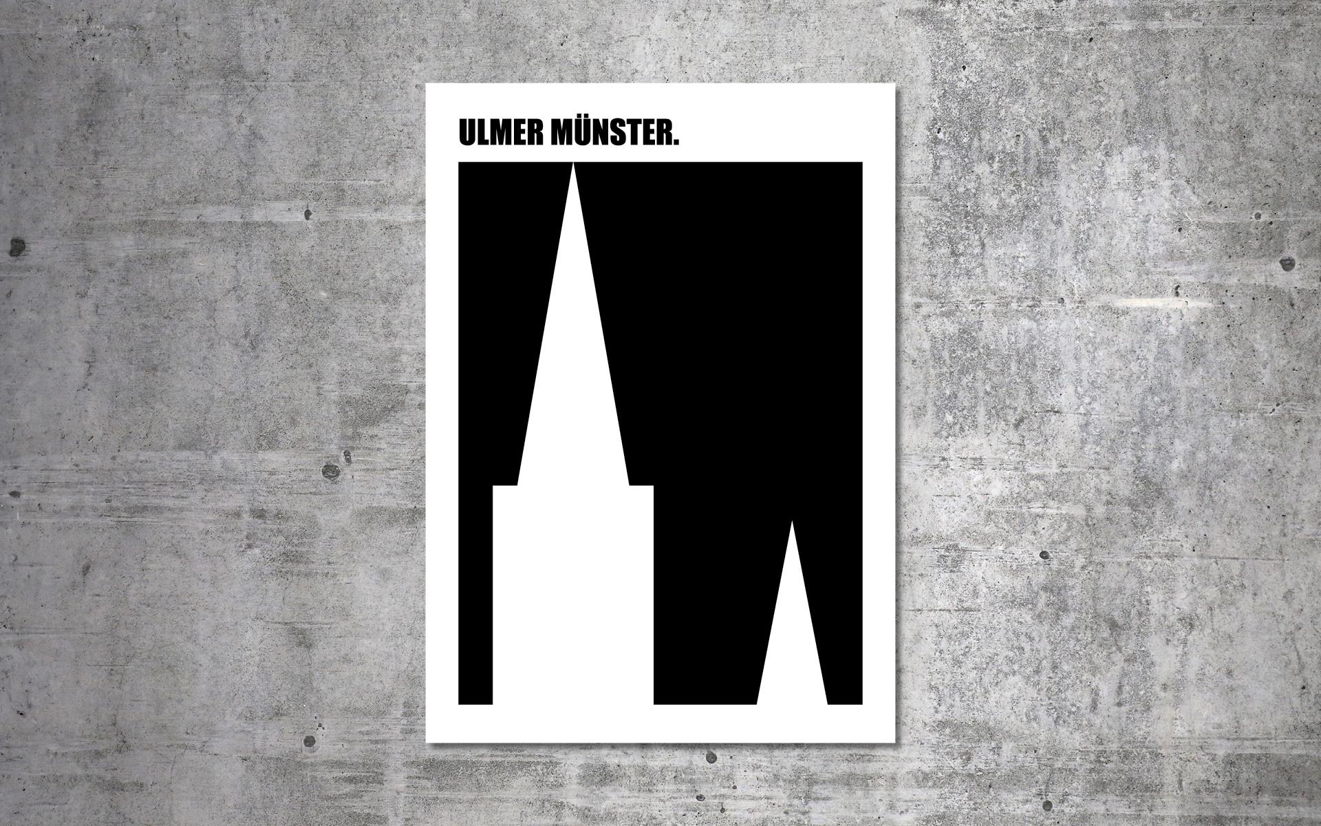Julian Danner – Serie Ulmer Wahrzeichen, Ulmer Münster